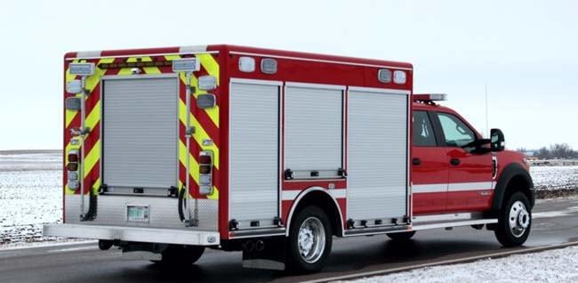 Custom rescue truck
