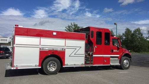 Custom fire truck