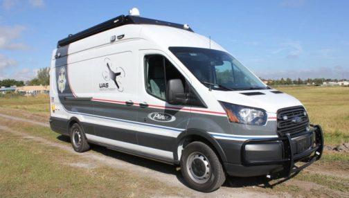 Pierce critical response unit on Ford Transit