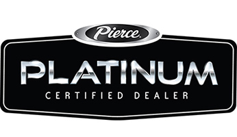 Pierce Platinum Certified Dealer logo