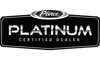 Pierce Platinum Certified Dealer logo