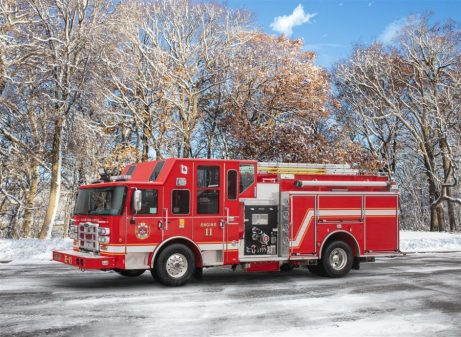 Custom apparatus for Taylor, BC fire department