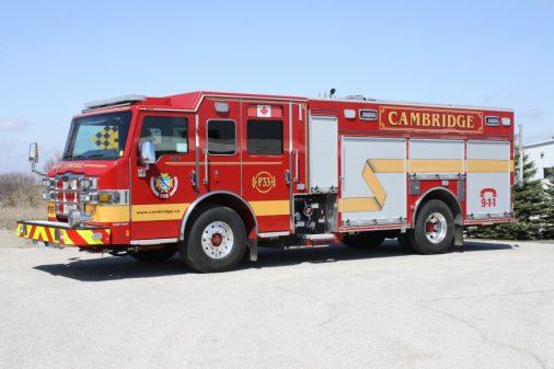 Cambridge fire department apparatus