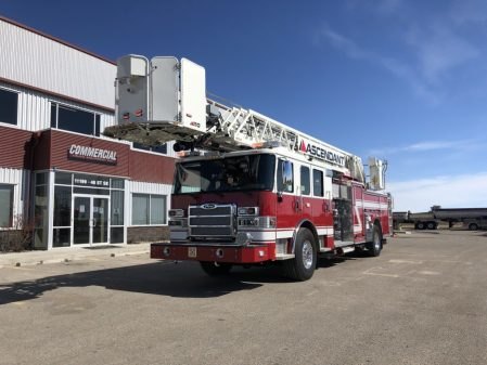 Drumheller fire department apparatus