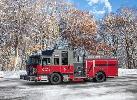 Pierce Pumper Fire Truck for Leduc fire department