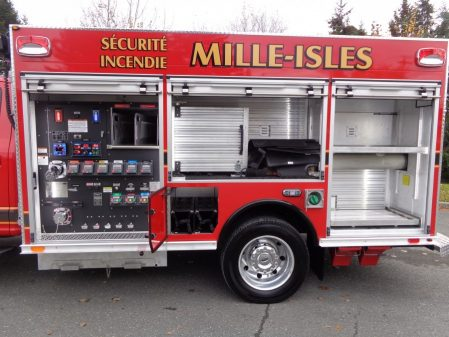 Maxi mini pumper on Ford F550