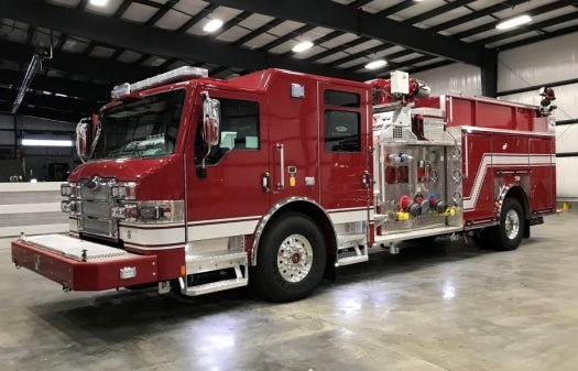 Velocity Industrial Pumper, Stock Number 34006 driver side