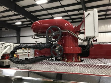 Velocity Industrial Pumper, Stock Number 34006 monitor