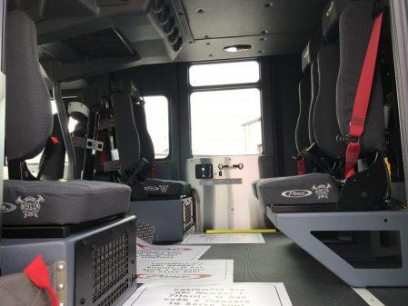 Pierce Enforcer 107' Ascendant crew cab