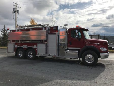 MaxiMetal INC2764, Pumper Tanker, 3000 USG, 1500 GPM