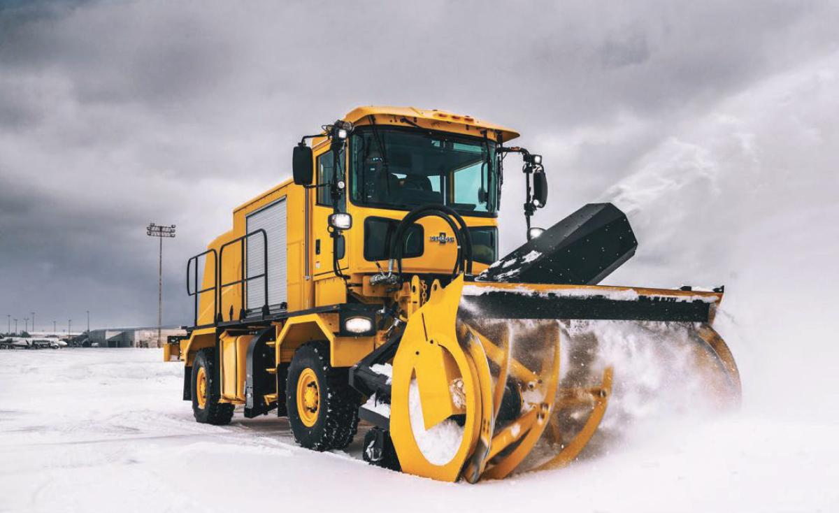 Oshkosh Airport Snow Removal Vehicles