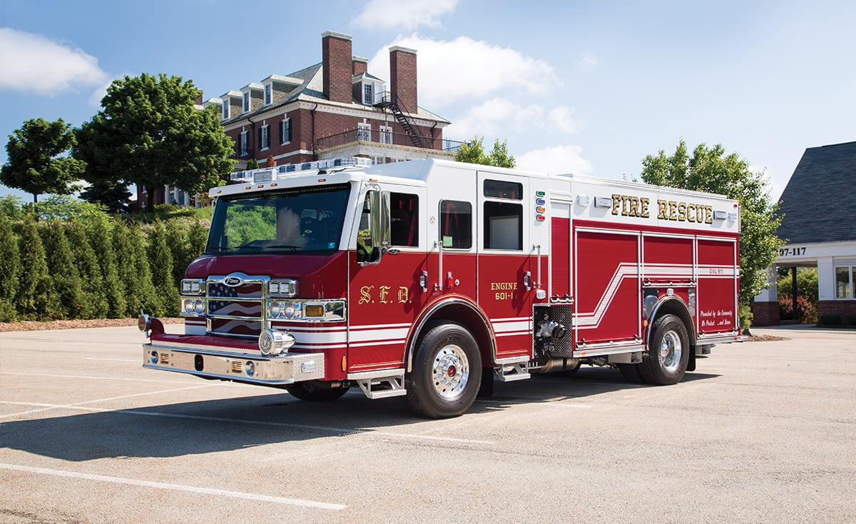 fire apparatus rescue truck