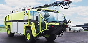 striker 4x4 ARFF vehicle