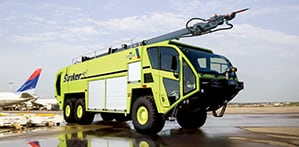 striker 6x6 ARFF vehicle