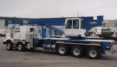 commercial body builders appointed as canadian dealer for weldo hydra lift cranes