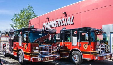 commercial truck equipment partners with pierce manufacturing